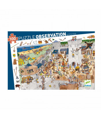 Puzzle Observation + Poster