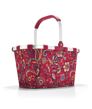 """Cabas Course """"Carrybag"""" Rouge"""